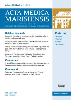 ABONAMENT PERSOANE FIZICE - Acta Medica Marisiensis