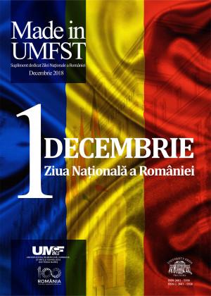 Revista MADE in UMFST Nr.4 decembrie 2018 - supliment