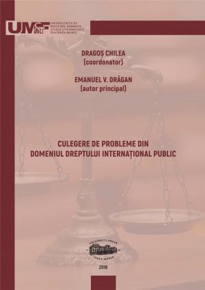 Culegere de probleme din domeniul dreptului internaţional public