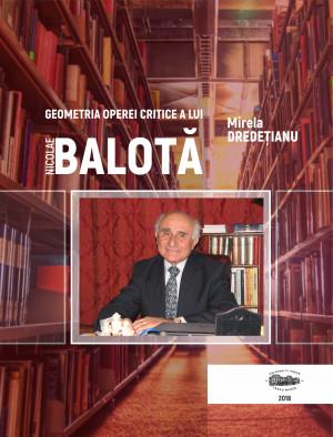 GEOMETRIA OPEREI CRITICE A LUI  NICOLAE BALOTĂ