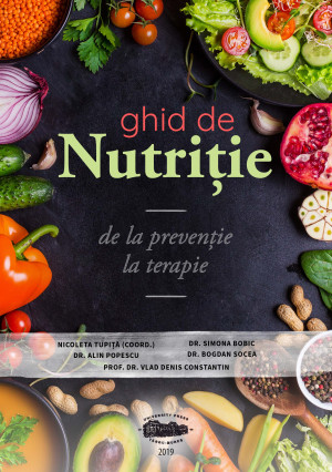 GHID DE NUTRIȚIE - de la prevenție la terapie (print alb negru, copertă color)