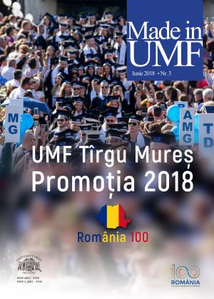 Revista MADE in UMF Nr.3 iunie 2018