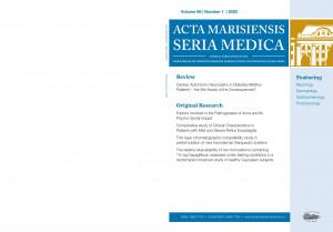 Acta Marisiensis. Seria Medica - ABONAMENT PERSOANE FIZICE