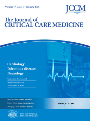 ABONAMENT PERSOANE FIZICE - The Journal of CRITICAL CARE MEDICINE - Cardiology; Infectious diseases; Neurology
