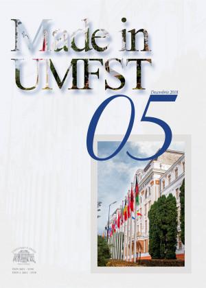 Revista MADE in UMFST Nr.5 decembrie 2018