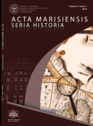 Acta Marisiensis. Seria Historia - NUMĂRUL CURENT*
