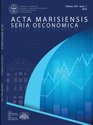 Acta Marisiensis. Seria Oeconomica - NUMĂRUL CURENT*